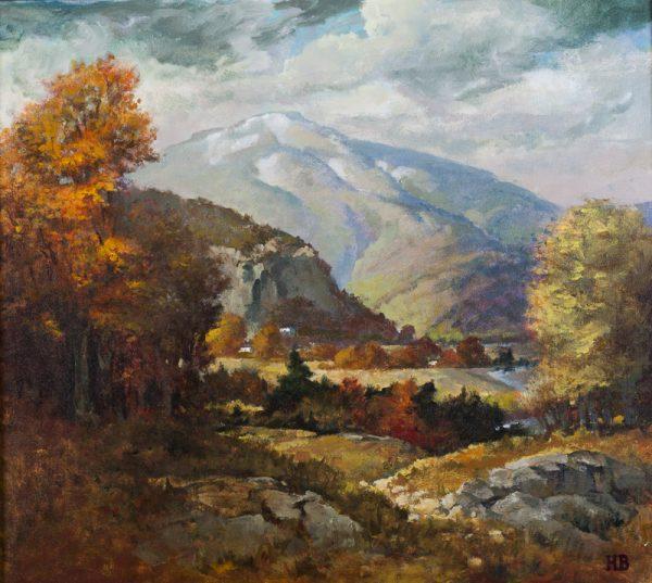 Mt. Washington Valley in the Fall - original art
